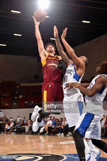 London Perrantes of the Canton Charge dunks against the Lakeland Magic on November 10 2017 at RP Funding Center in Lakeland Florida NOTE TO USER User...