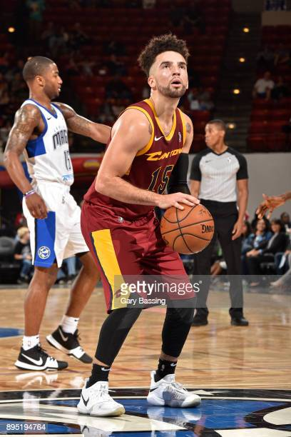 London Perrantes of the Canton Charge shoots a free throw against Lakeland Magic on November 10 2017 at RP Funding Center in Lakeland Florida NOTE TO...