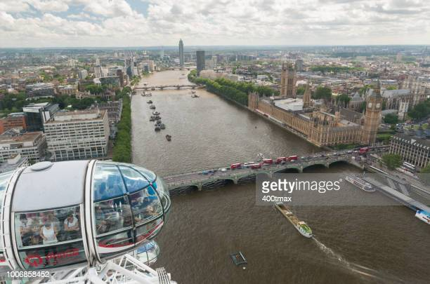 london - london eye stock pictures, royalty-free photos & images