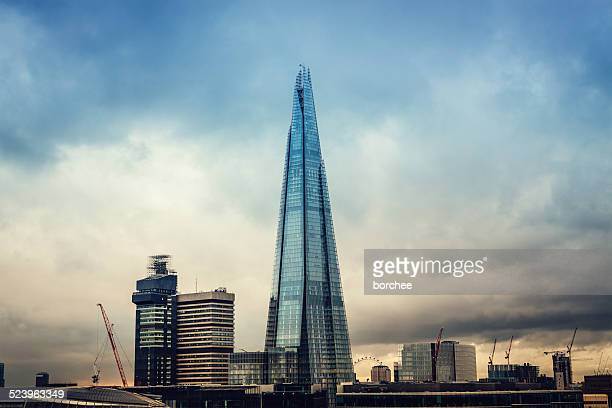 london - shard london bridge stock pictures, royalty-free photos & images