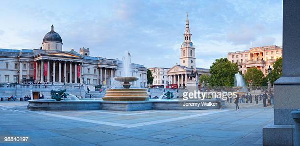 london - trafalgar square stock pictures, royalty-free photos & images