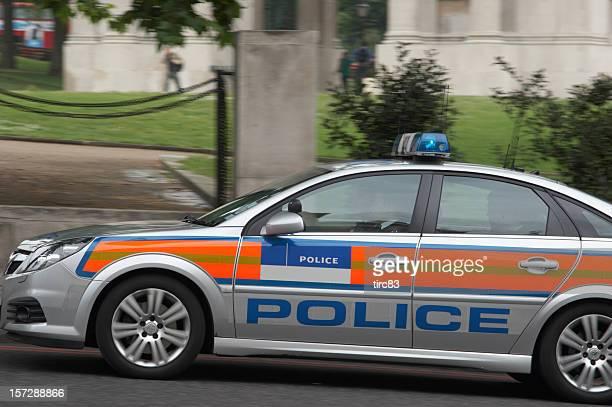 London police car speeding
