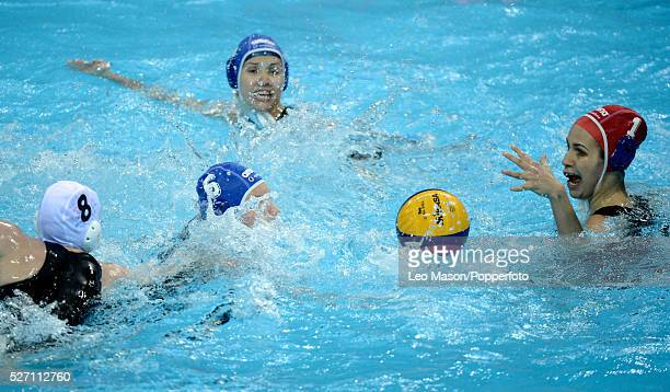 London Prepares series International Water Polo Olympic Water polo Arena LondonGBR Vs HUN Orsolya Kaso HUN