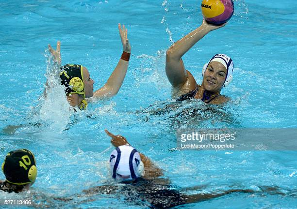 Womens InternationalFinalUSA Vs AUS Olympic Water Polo Arena Kameryn Craig USA