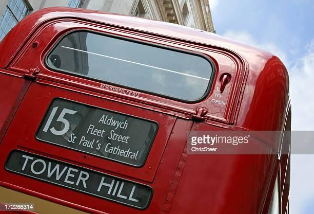London Red double decker bus