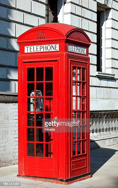 london red telephone booth - red telephone box stock pictures, royalty-free photos & images