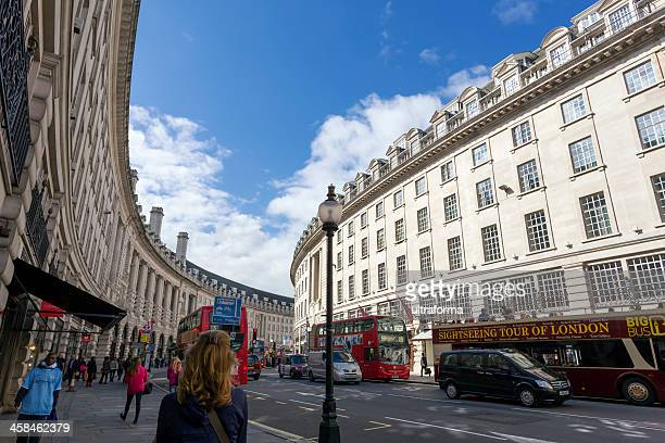 london regent street - west end london stock photos and pictures
