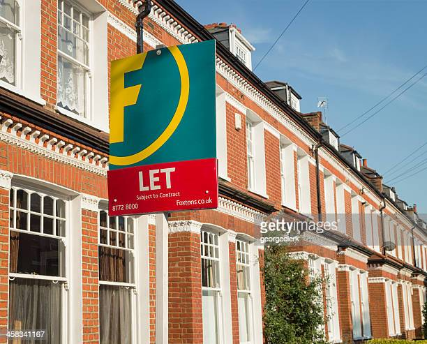 london rental property - house rental stock pictures, royalty-free photos & images