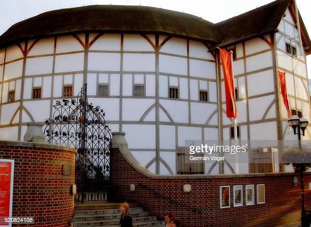 London replica of Shakespeare's Globe theatre.