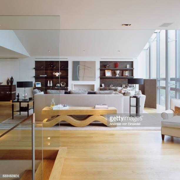 London riverside penthouse