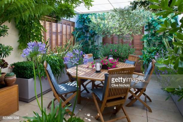 London rooftop garden