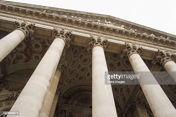 uk, london, royal exchange - wet stockfoto's en -beelden