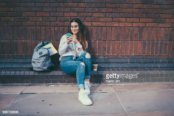 london schoolgirl - college application stock photos and pictures