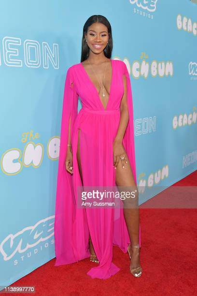 "London Seabreeze attends the Los Angeles Premiere Of Neon And Vice Studio's ""The Beach Bum"" at ArcLight Hollywood on March 28, 2019 in Hollywood,..."