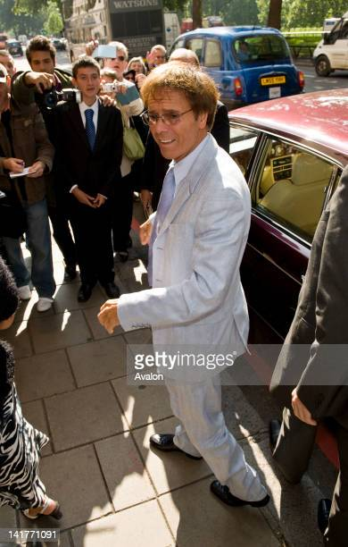 London Sep 19 The arrival for Cliff Richard 50th anniversary tribute lunch at the Dorchester Hotel in London on September 19th 2008