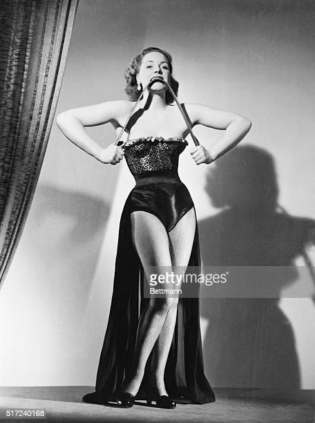 She's A Tough Lovely Figure with the right amount of curves in exactly the right places belongs to lovely Briton Joan Rhodes greeneyed 27yearold...