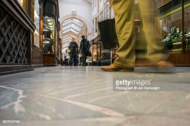 London shopping arcade
