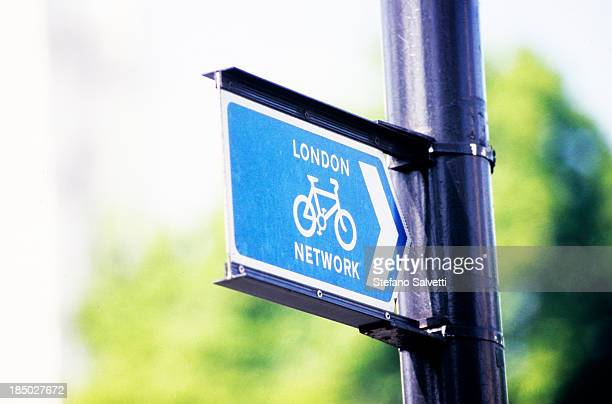 London, signal for bicycle