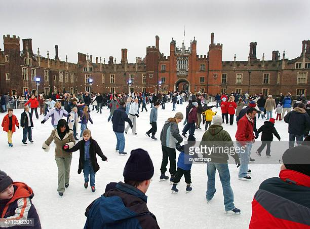 london skaters - hampton court stock pictures, royalty-free photos & images