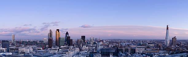London Skyline Dusk Panorama Wall Art