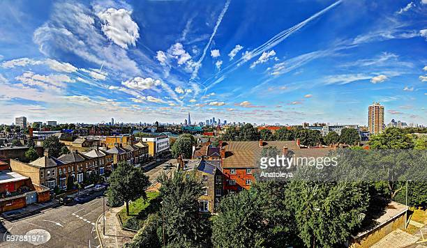 london skyline in the afternoon - anatoleya stock pictures, royalty-free photos & images