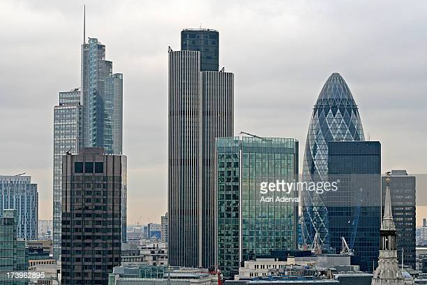 london skyline - 2010 stock pictures, royalty-free photos & images