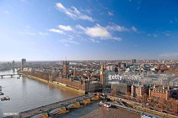 london skyline - city of westminster london stock photos and pictures
