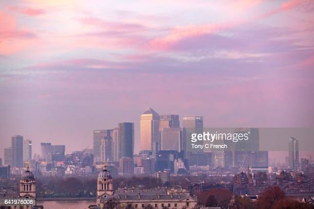 london skyline - prosperity stock photos and pictures