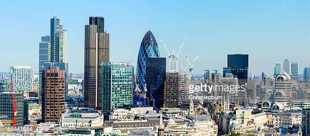 Gratte-ciel de la ville de Londres panoramique