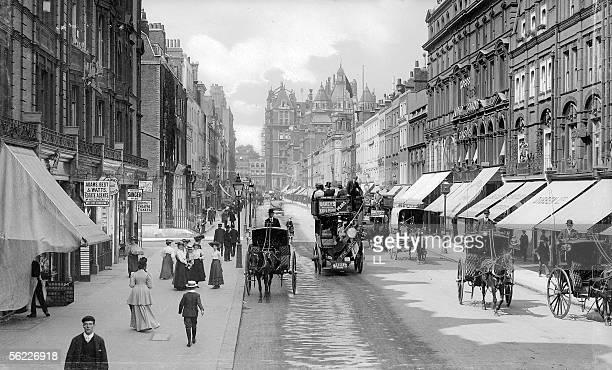 London Sloane Street around 1900