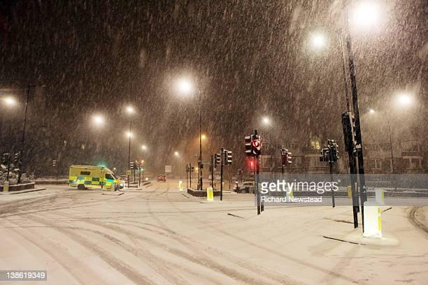 London snowfall