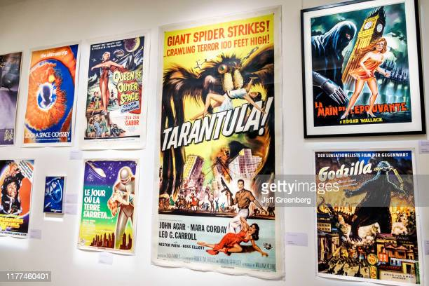 London Sotheby's fine art auction house vintage movie poster exhibit