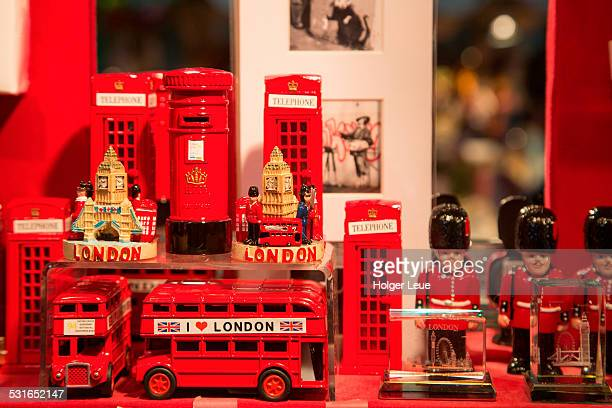 London souvenirs for sale at Covent Garden Market