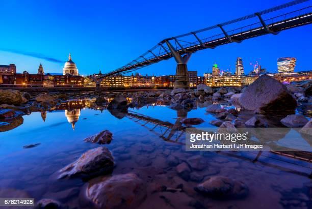 London - St Pauls and Millennium Bridge