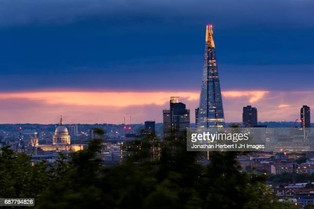 London - St Paul's and The Shard