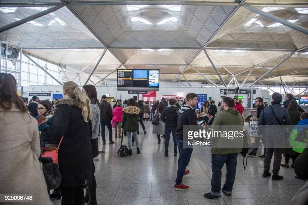 London Stansted Airport international airport an airport with more than 25000000 passengers in 2017 that is serving mainly the city of London and...