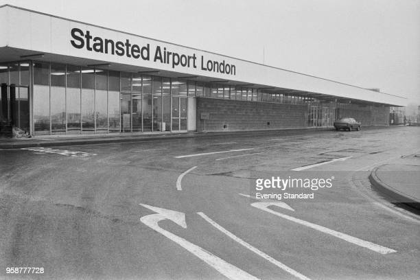 London Stansted Airport, UK, 2nd February 1978.
