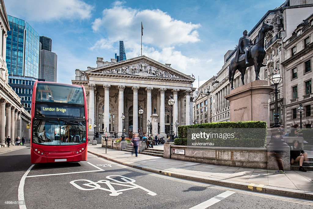 London Stock Exchange : Stock Photo