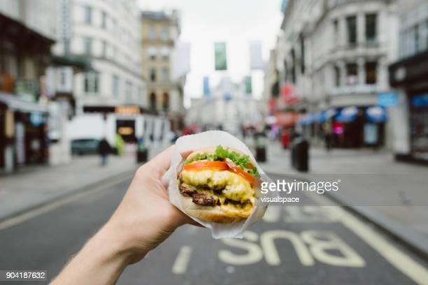 London Street Food - hamburgare