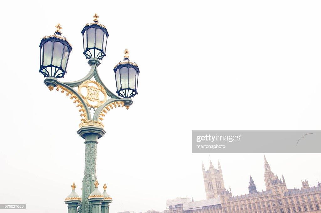 London streetlight : Foto de stock