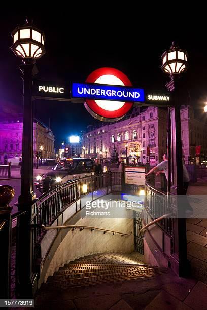 Londres, la Station de métro de Piccadilly Circus