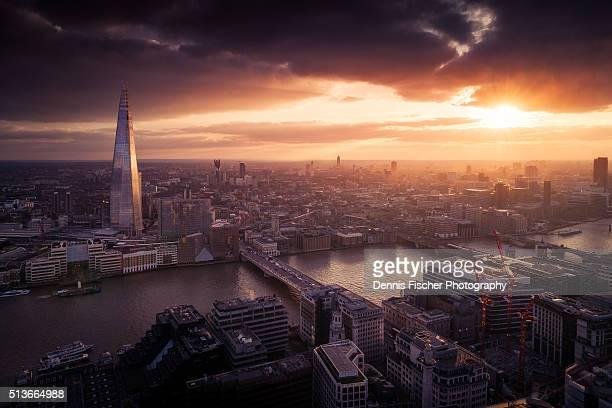 London sunset view
