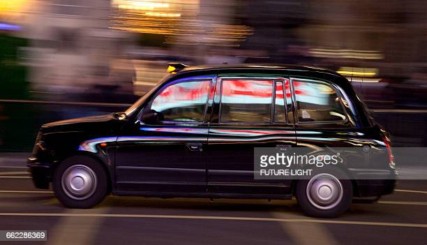 London Taxi, Central London, England, Europe