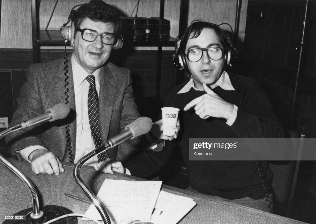 Fred Housego And Richard Baker : News Photo
