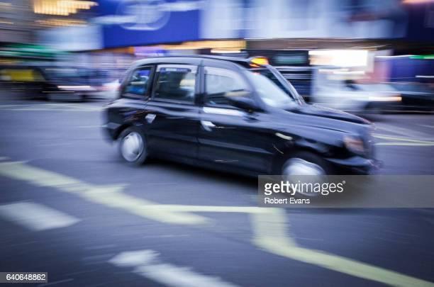 London Taxi - Motion Blur