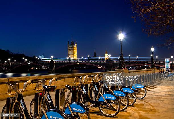 london - the palace of westminster at dusk - barclays brand name stock photos and pictures