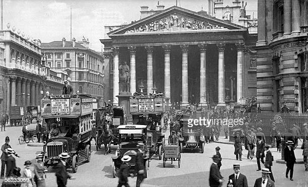 London The Royal Exchange About 1910
