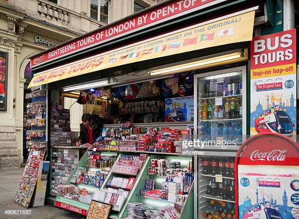 London tourist stall