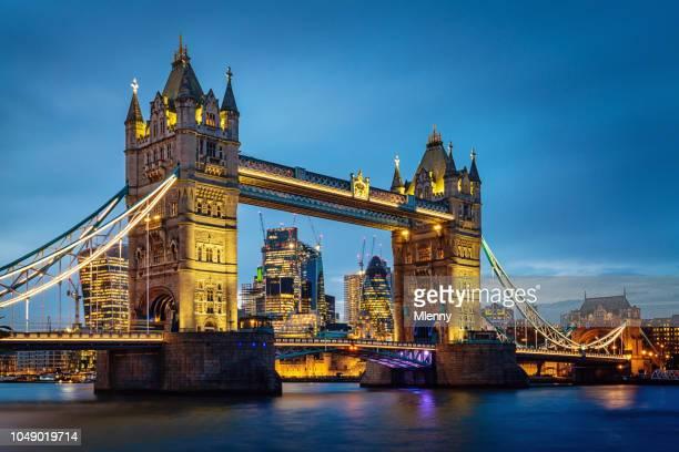 London Tower Bridge by Night United Kingdom
