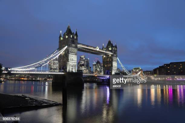 London tower bridge dusk sunrise scenics